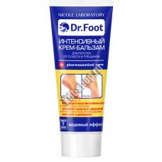 Интенсивный крем-бальзам для пяточек от сухости и трещинок ( Туба 75 мл). Dr.Foot.